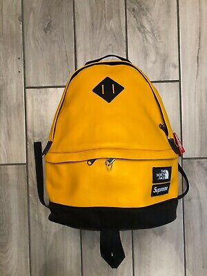 $ CDN470.76 • Buy SUPREME X TNF BACKPACK YELLOW FW17 - ITEM NUMBER 1-2061