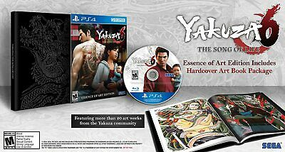 AU148 • Buy Yakuza 6 The Song Of Life Essence Of Art Edition Sony PS4 Game W/ Ltd Ed Artbook