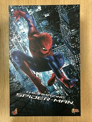 $ CDN431.35 • Buy Hot Toys MMS 179 The Amazing Spiderman Spider-Man Andrew Garfield Figure USED