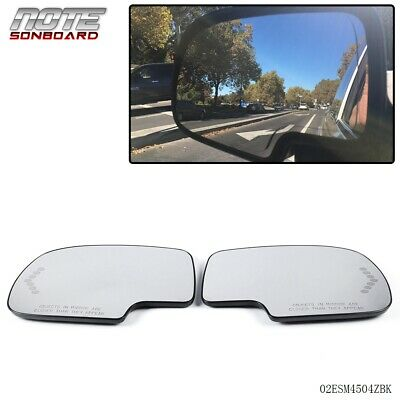 $23.43 • Buy Pair Mirror Heated With Turn Signal Left & Right Side For Chevy GMC Cadillac