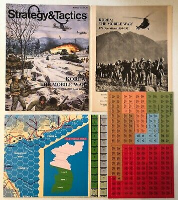 Strategy & Tactics #111: Korea - The Mobile War 1950-1951 (Unpunched) • 15$