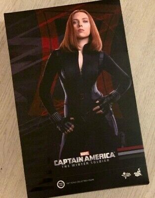 $270 • Buy Hot Toys Movie Masterpiece Captain America The Winter Soldier Black Widow MMS239