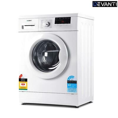 AU453.09 • Buy RETURNs Devanti 7kg Front Load Washing Machine Quick Wash 24h Delay Start Automa