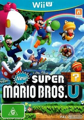 AU9.95 • Buy Nintendo Wii U Games - Choose Your Own Title *Free Next Day Post From Sydney*