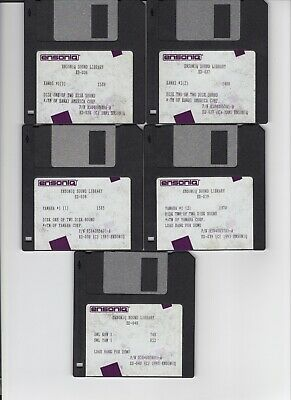 $25 • Buy Ensoniq Sl-5 Series Eps / Eps16+ / Asr 10/88 (5) Disk Set