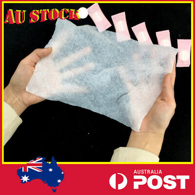 AU8.98 • Buy Camping Disposable Pure Cotton Compressed Washcloth Towel Wet Wipe Travel Tablet