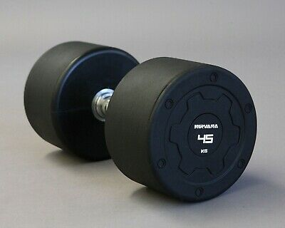 AU40 • Buy Nirvana Tech 2.5KG-50KG Rubber Dumbbell Fitness Gym Strength Weight