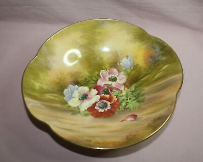 $ CDN125.95 • Buy Royal Winton Grimwades Yellow/brown  Floral Serving Bowl # 6625  Signed England
