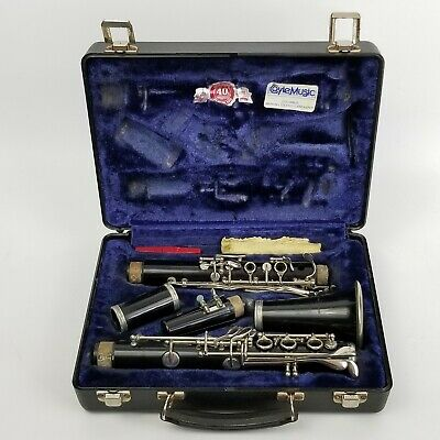 Bundy Selmer Resonite Clarinet Bb With Case And Mouthpiece Tested And Works • 69.99$