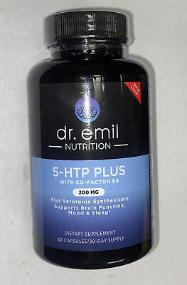 $ CDN30.86 • Buy Dr. Emil 5-HTP Plus + 200 Mg Serotonin Synthesis Diet Supplement - 60 Capsules