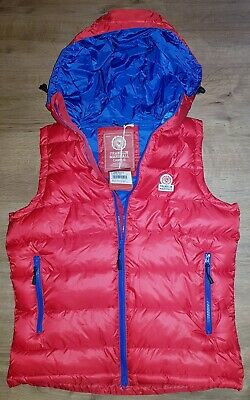 £64.99 • Buy Brand New Mens Authentic Franklin & Marshall  Campus Gilet Body Warmer Red/blue