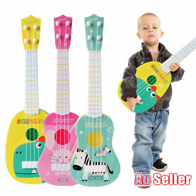 AU16.95 • Buy Guitar Toy Educational Classical Ukulele Beginner For Kids Musical Instrument AU
