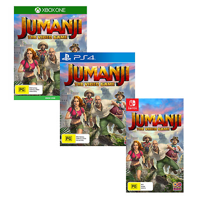 AU99 • Buy Jumanji The Video Game Family Kids PS4 Playstation 4 Nintendo Switch XBOX One
