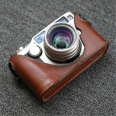 $ CDN81.16 • Buy Genuine Leather Case For Contax G2 Camera Handmade Retro Half Protective Cover