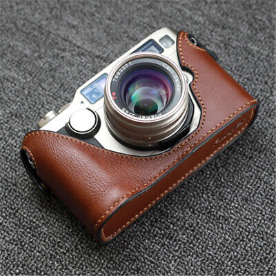 $ CDN76.63 • Buy Genuine Leather Retro Half Case For Contax G2 Camera Handmade Protective Cover