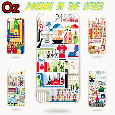 AU11 • Buy 24 Hours In Cities Case For ASUS Zenfone 6 ZS630KL, Cover WeirdLand