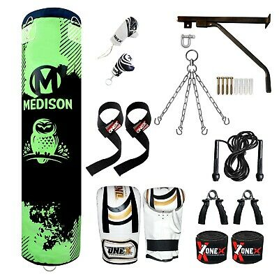 AU117.86 • Buy 15 Pieces 5ft Punch Boxing Bag Training Kickboxing MMA 100% Water Professional