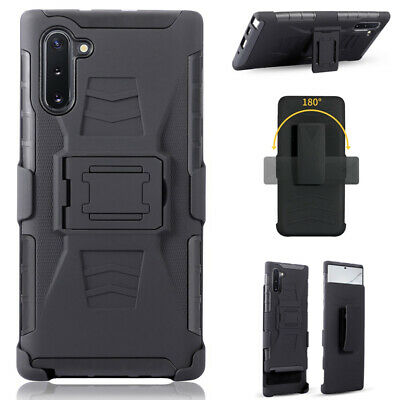 $ CDN9.69 • Buy For Samsung Galaxy Note 10 Plus A70 S10 Armor Belt Clip Hybrid Stand Case Cover