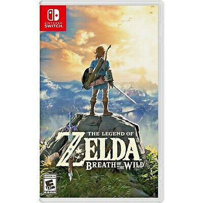 [LATEST] NEW Zelda Breath Of The Wild For Nintendo Switch Lite Console BOTW Link • 48.84$