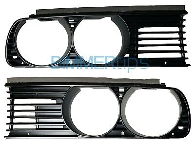 $245.99 • Buy NEW * E30 Euro Spec Grills, Genuine OEM BMW M3 325i, 318is, 325e, 318