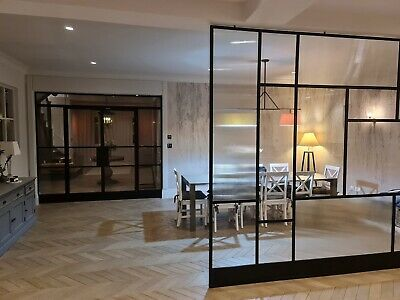 £0.99 • Buy Industrial ORIGINAL Steel Crittall Inspired Doors & Panels Any Size & Colour CAD