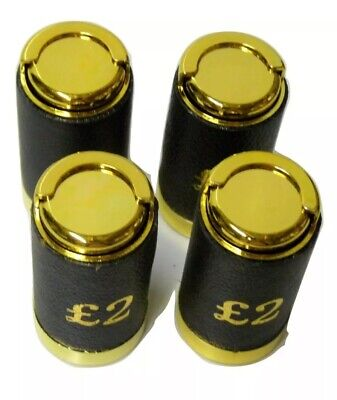 £6.50 • Buy £2 Pound Coin Holder Black & Gold Taxi/Traders/Bus/Milkman 100% Good Quality