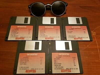$50 • Buy Ensoniq Eps Sound Library Vol #9 Eps  / Eps16+ / Asr 10/88 (10) Disk Set