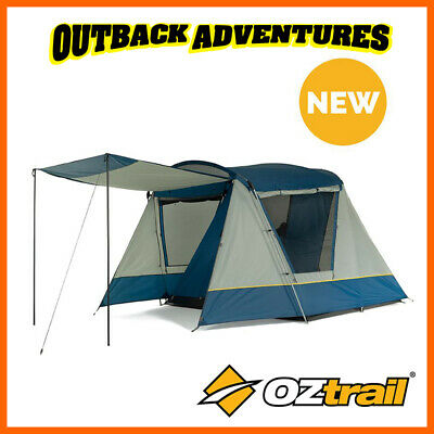AU150 • Buy Oztrail Family 4 Dome Tent Camping 4 Person Camp New Model