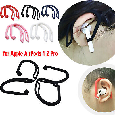 $ CDN3.60 • Buy Silicone Ear Hook Anti-Lost Clips For Apple AirPods 1 2 Pro Bluetooth Earphone