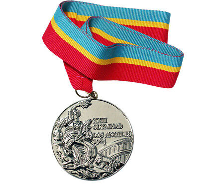 £39.83 • Buy Silver Medal Of The XXIII Summer Olympic Games In Los Angeles 1984