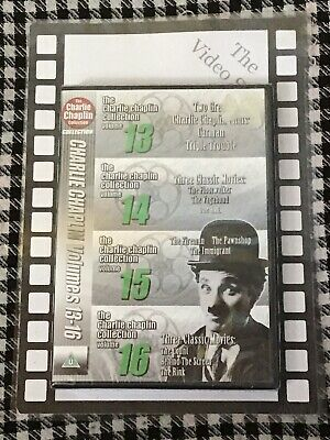Charlie Chaplin Collection [DVD] Brand New & Sealed • 2.99£