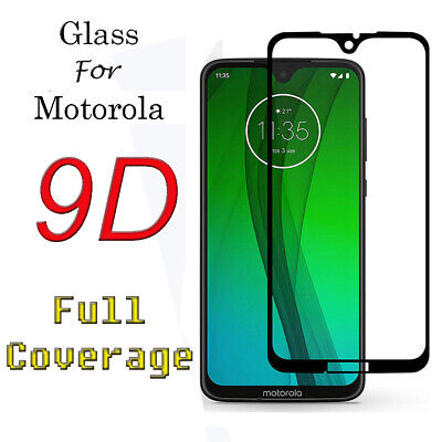 For Moto E5 E6S G6 Play G7 G8 Power E6 Plus Tempered Glasess Screen Protector • 3.39£