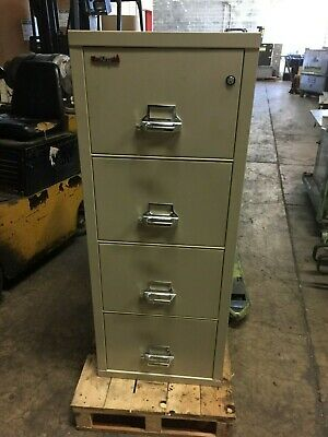 Fire King Large Fireproof Office Cabinet - Locking Drawers ! • 770$