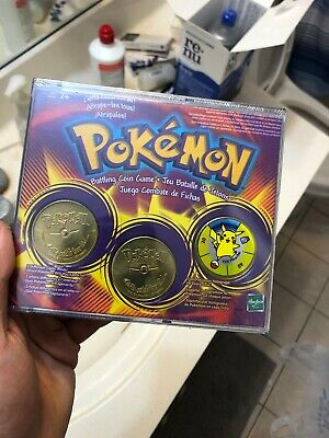 $ CDN14.99 • Buy Vintage 1999 Pokemon Battling Coin Game - NEW, Unopened And Sealed In Box