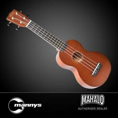AU40 • Buy Mahalo Rainbow Series Soprano Ukulele (Brown) Inc Bag
