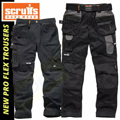 Scruffs Flex Work Trousers - Stretch  - Pro Flex / Plus / Holster & Non Holster • 49.20£