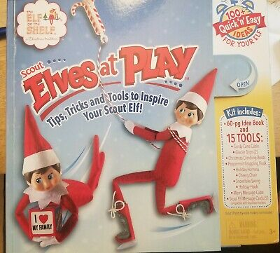 AU10.24 • Buy  New! The ELF ON THE SHELF. Scout ELVES AT PLAY,15-Piece Adventure Kit 100 IDEAS