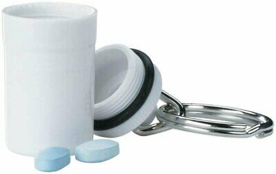$4.99 • Buy Apex Crush Proof Keychain Pill Holder Travel Container