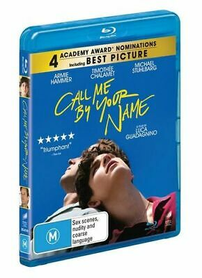 AU23.90 • Buy NEW Call Me By Your Name Blu Ray Free Shipping