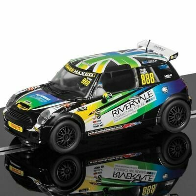 Scalextric BMW Mini Cooper S Mini Challenge 2014 No 888 Chris Knox (C3606) BNIB • 55£