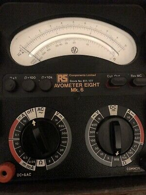 £195 • Buy Avometer Model 8 MK.6 Multimeter Excellent Condition In A Nato Style Case.
