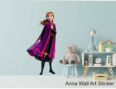 ANNA - FROZEN II -  WALL ART STICKERS - 3 X Great Sizes - Great For Any Room • 21.25£