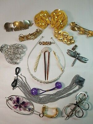 Lot Of 16 Vtg To Now Hair Accessories. Pre-owned  #R323 • 8.99$