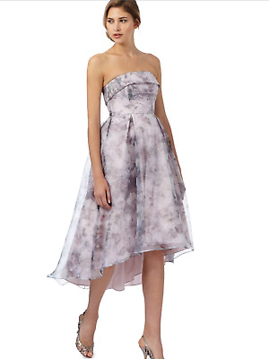Debut Hi-Lo Dress Prom Bride Bridesmaid Special Occasion Cruise Party UK14 Sale • 60£