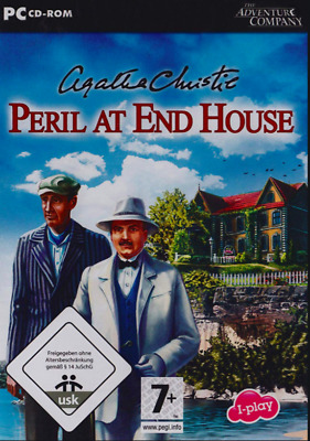 Agatha Christie Peril At End House PC CD-ROM Excellent Condition • 9.95£