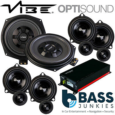 Vibe BMW 5 Series F10/F11 Underseat Subs & Front Rear Speakers & Amp Upgrade Kit • 599£