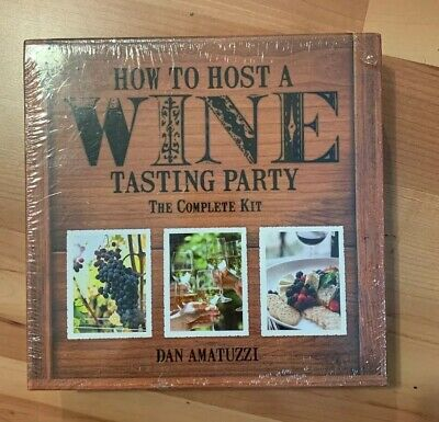 How To Host A Wine Tasting Party: The Complete Kit By Amatuzzi S1 • 19.99$