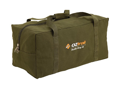 AU37.95 • Buy OZTRAIL XL CANVAS DUFFLE BAG Luggage Overnight Travel Carry Extra Large