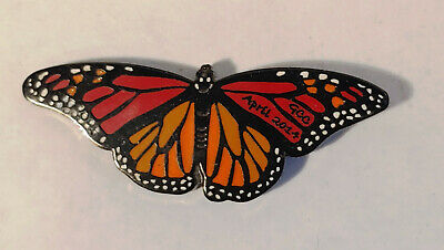 Geocoin Unactivated 2014 Geocoin Club Butterfly Coin • 10$
