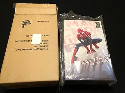 Hot Toys Amazing Spiderman 2 Exclusive 1/6 Scale Figure MMS244 Spider-man  • 220$